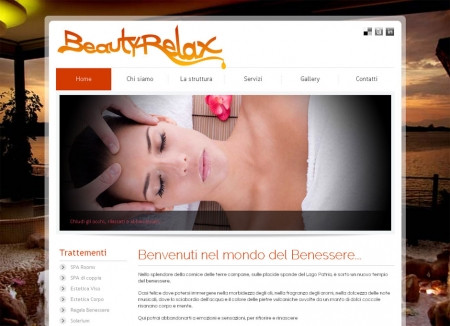 webdesign Centro SPA Beauty Relax